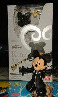 SHFiguarts kingdom hearts 2 king mickey