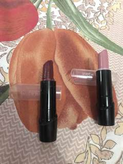 2 Wet n' Wild Lipstick for Php 100.00 only