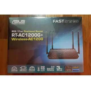 For sale: brand new sealed Asus wireless dual-band router AC1200