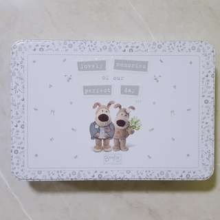 Boofle Tin Box - Lovely Memories of Marriage