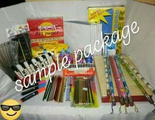 SCHOOL SUPPLY PACKAGES