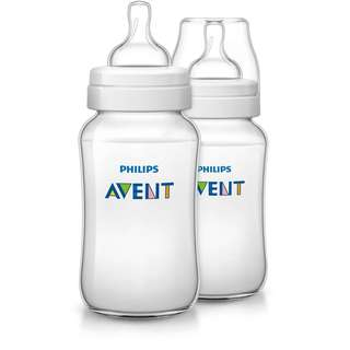 Avent Classic Plus Bottle 11oz / 330ml Twin Pack
