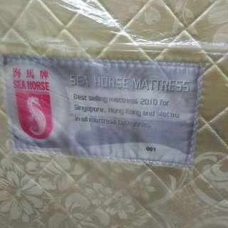 Queen mattress with bedframe