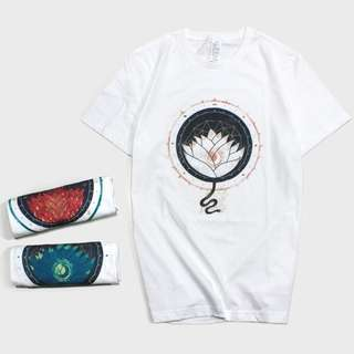 Lotus Art Graphic T-Shirt - Unisex