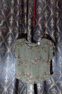Petite chifon blouse