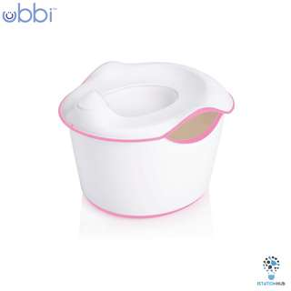 Ubbi 3-in-1 Toddler Potty  | Pink [BG-UB10100]