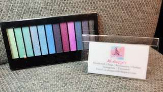 New (Instock) - Revolution Make Up Eyeshadow (London) - Mermaid Collection (12 Color Day to Night)