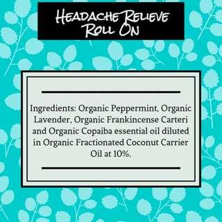 Headache Relieve Roll On