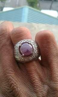 Batu Sapphire Purple ( sapphire Ungu) Srilangka origin