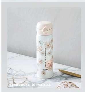 代購 Starbucks® X Paul & Joe 設計系列 - 16.9 oz Floral Thermos 不銹鋼隨行杯