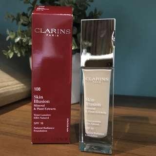 Clarins Skin Illusion Mineral Foundation