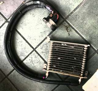 Original HKS oil cooler