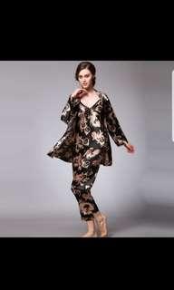Plus Size Long Sleeve Nightwear