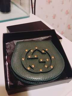 [NEW] Gucci GG Coin Purse Green 120969