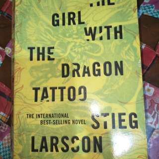 Stieg Larsson - The Girl with the Dragon Tattoo