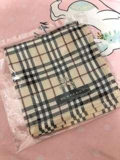 Burberry 巾 48.5x48.5 cm2