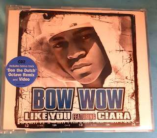 CdSingle. Bow Wow- Like You feat Ciara. New