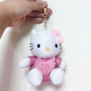 🚚 全新 Hello Kitty 吊飾 零錢包 三麗鷗 日本限定|Janet Style