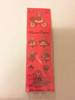 Sanrio vintage Marron Cream mc兔 碎花兔 貼紙 1992