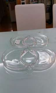 Leonard Crystal glass containers