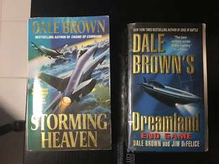 Novels/ Books by Dale Brown