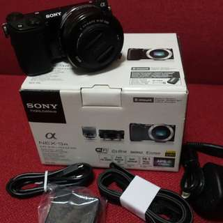 九成新 Sony nex 5r kit set