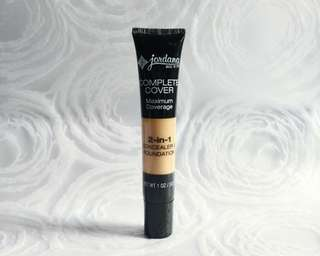 Jordana Complete Cover Maximum Coverage 2-in-1 Concealer & Foundation in 04 Natural Beige