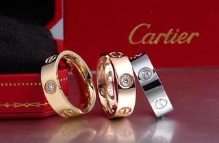Cartier leve love rings