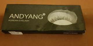Korean eye lashes Andy Yang