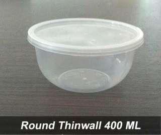 Thinwall / wadah es kepal milo viral