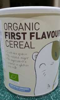 Organic First Flavour Cereal