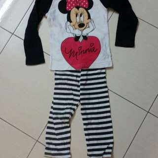 Minnie sleepsuit