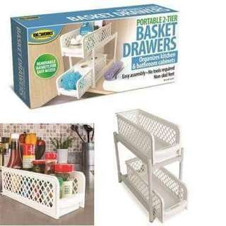 2 Tier Basket Drawer