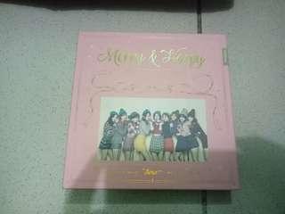 REPRICED!! Twice  Merry and Happy  album