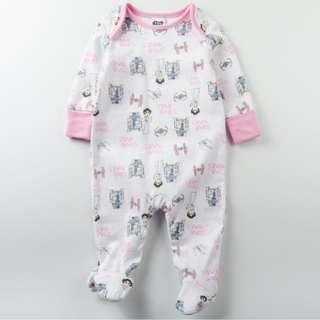 Starwars Baby Girl Sleepsuit 6-9months
