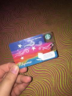 Starbucks Card (Limited Edition)