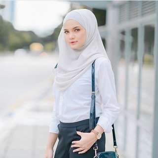 Instock Marshmallowscarf Double loop instant
