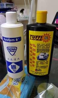 Tuff-Kote Cat wash + Tuffi Polish