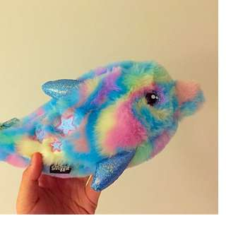 Smiggle stationeries pencil case fluffy pastel paddle pop dolphin sweet best friend pencil case new