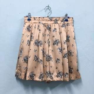 (P017) Uniqlo Floral Short Pants