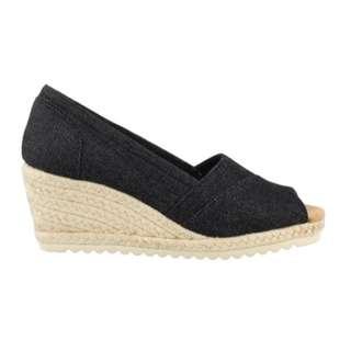 BrandNew Authentic Skechers, Monarchs Summer Days Mid Heel Wedge Sandals