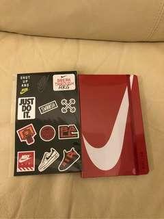 半價 Nike x Moleskine  notebook筆記簿