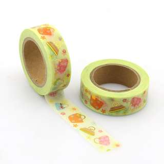 Hand Bags QC101281 Washi Tape 15mm x 10m