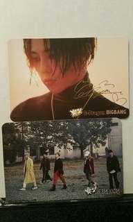 Yescard ~ 7.Bigbang(7張)