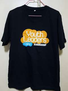 Tshirt youth leaders camp ngee ann poly