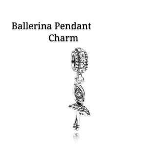 Bnis Pandora Ballerina Pendant Charm