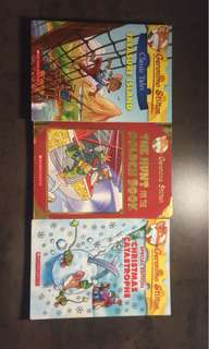 Geronimo Stilton Limited Edition Books