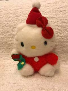 Sanrio vintage x'mas hello kitty 1990'