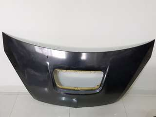 Mitsubishi colt cf wrapped bonnet