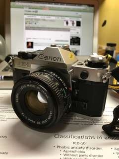 Canon AE1 program 50 f1.8